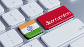India Disoccupation Concept — Stock Photo