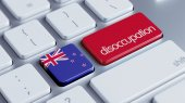 New Zealand Disoccupation Concept — Stock Photo