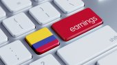 Colombia Earnings Concept — Stock Photo