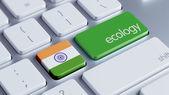 India Ecology Concept — Stock Photo