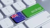 New Zealand Ecology Concept — Stock Photo