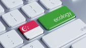 Singapore Ecology Concept — Stock Photo