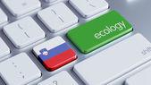 Slovenia Ecology Concept — Stock Photo