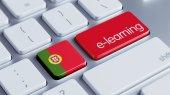 Portugal E-Learning Concept — Stock fotografie