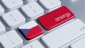 Czech Republic Energy Concept — Fotografia Stock