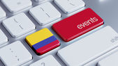 Colombia Events Concept — Foto Stock