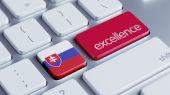 Slovakia Excellence Concept — Stock Photo