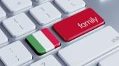 Italy Family Concept — Stock Photo