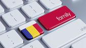 Romania Family Concept — Stock Photo