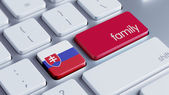 Slovakia Family Concept — Stock Photo