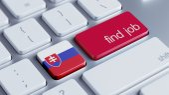 Slovakia Find Job Concept — Stock Photo