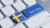 Sweden First Class Concept — Stock Photo
