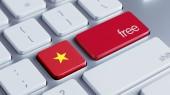 Vietnam Free Concept — Foto de Stock