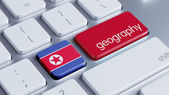 North Korea Geography Concep — Stock Photo