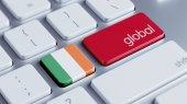 Ireland Global Concept — Stockfoto