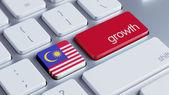 Malaysia Growth Concep — Stok fotoğraf