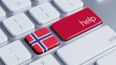 Norway Help Concept — Stock Photo