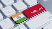India Holidays Concept — Stock Photo