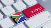 South Africa Holidays Concept — Stockfoto