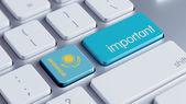 Kazakhstan Important Concept — Stock Photo