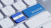 Nicaragua Income Concept — Stock Photo