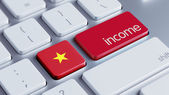 Vietnam Income Concept — Stock Photo
