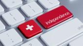 Switzerland Independence Concept — Stock Photo