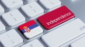 Serbia Independence Concept — Stock Photo