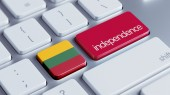 Lithuania Independence Concept — Stock Photo