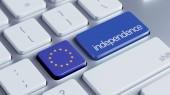 European Union Independence Concept — Stock Photo