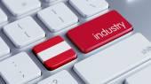 Austria Industry Concept — Stock Photo