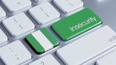 Nigeria Insecurity Concep — Stockfoto