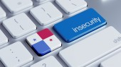 Panama Insecurity Concep — Stockfoto