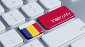 Romania Insecurity Concep — 图库照片