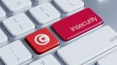 Tunisko nejistotu concep — Stock fotografie