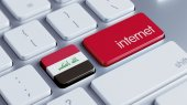 Iraku Internet koncepcja — Zdjęcie stockowe