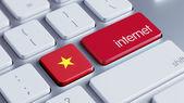 Vietnam Internet Concept — Stock Photo