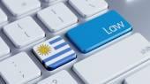 Uruguay Law Concept — Stockfoto