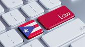 Puerto Rico Law Concept — Stockfoto