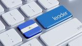 Nicaragua Leader Concept — Stockfoto