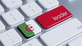 Algeria Leader Concept — Stockfoto