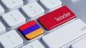 Armenia Leader Concept — Stock Photo