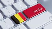 Belgium Leader Concept — Stockfoto