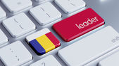 Romania Leader Concept — Stockfoto