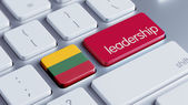 Lithuania Leadership Concept — Stock Photo