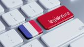 France Legislature Concep — Stock Photo