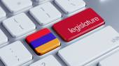 Armenia Legislature Concep — Stock Photo