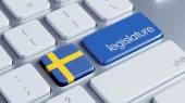 Sweden Legislature Concep — Stock Photo