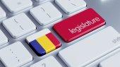 Romania Legislature Concep — Stock Photo