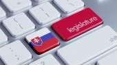 Slovakia Legislature Concep — Stock Photo